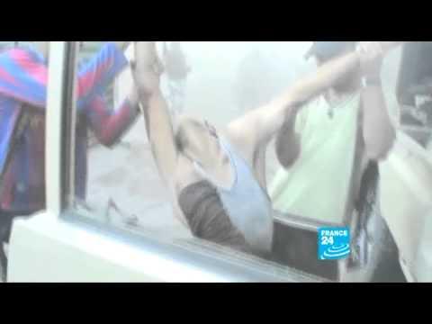 Libya - Tripoli celebrates fall of Gaddafi compound