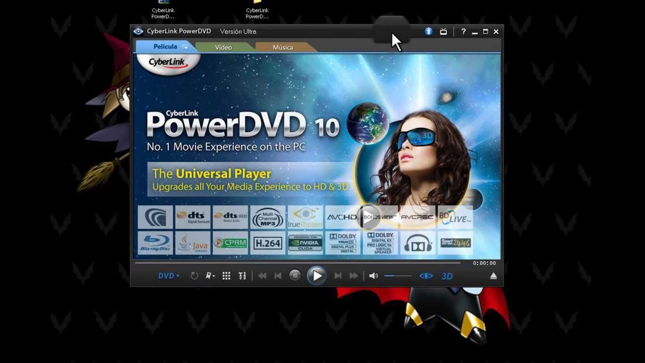 Descargar programa para ver peliculas cyberlink power dvd - Para ver fotos ...