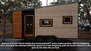 Tiny House Stolen From Canberra 'spotted In Rural Queensland Less Than A Day Later'