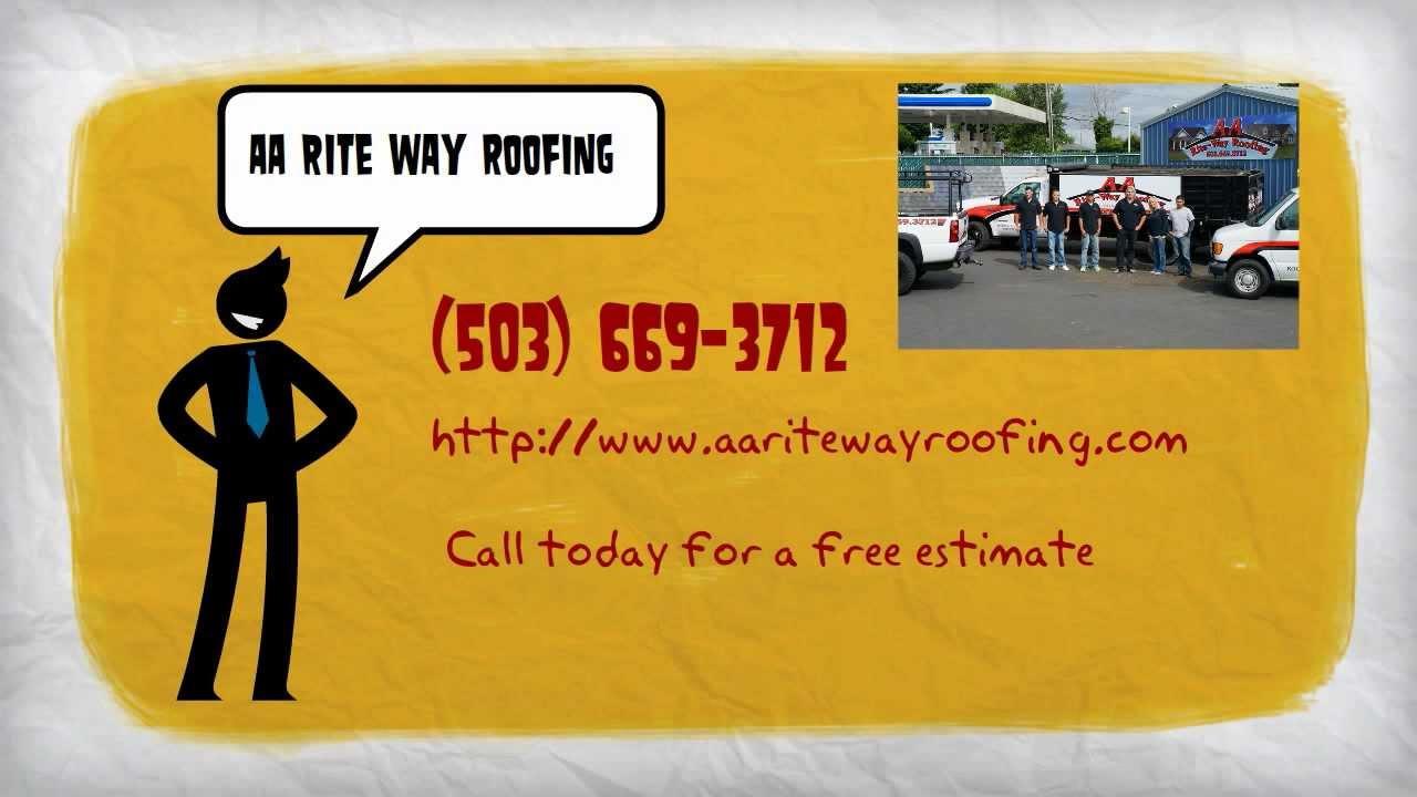 AA Rite Way Roofing, Gresham Roofing Contractor.
