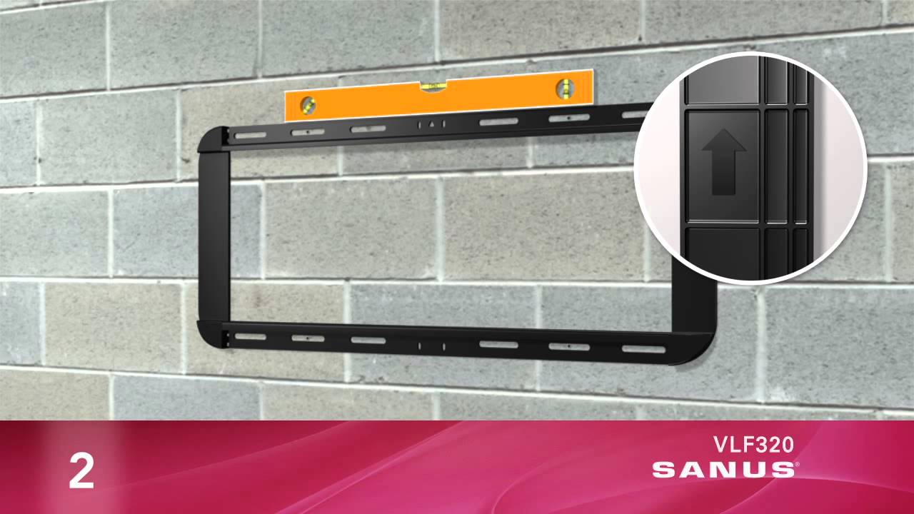 How To Install Your SANUS VLF320 TV Mount