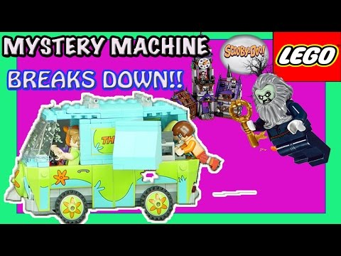 Mystery Machine Lego Scooby Doo Mansion Scooby doo episodes games Haunted Lighthouse TOYS Dimensions