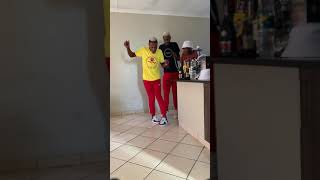 Limpopo boy showing off his moves to his friends
