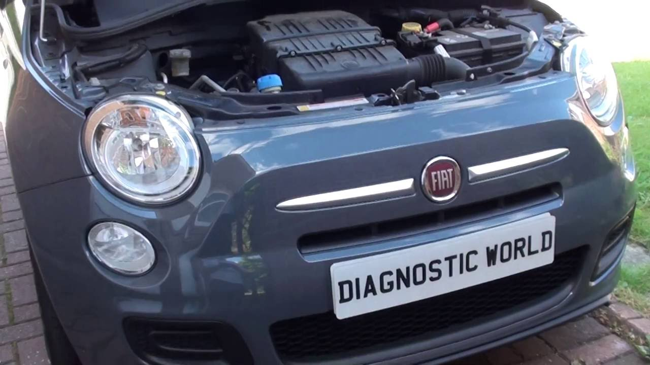 fiat 500 coolant location youtubefiat 500 coolant location [ 1280 x 720 Pixel ]