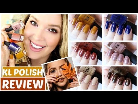 KathleenLights KL POLISH Review + Swatches | JennyClaireFox thumbnail