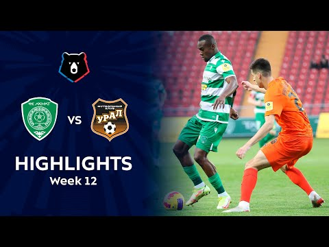Akhmat Grozny Ural Goals And Highlights