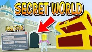 SECRET WORLD IN ROBLOX FAME SIMULATOR!!!