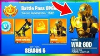 FORTNITE HAVE THE SAISON 5 FREE / QUASI-FREE