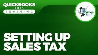 How to  Set Up and Pay Sales Tax in QuickBooks 2018