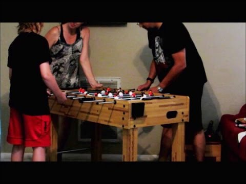 The BEST Choice Foosball Table   YouTube
