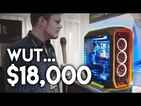 $18,000 Computer Case by Corsair!!!