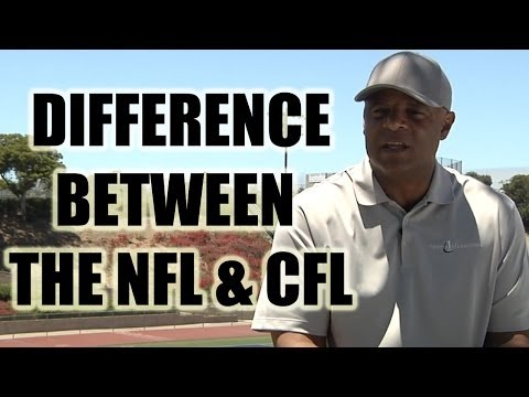 Warren Moon: Difference between the CFL and NFL