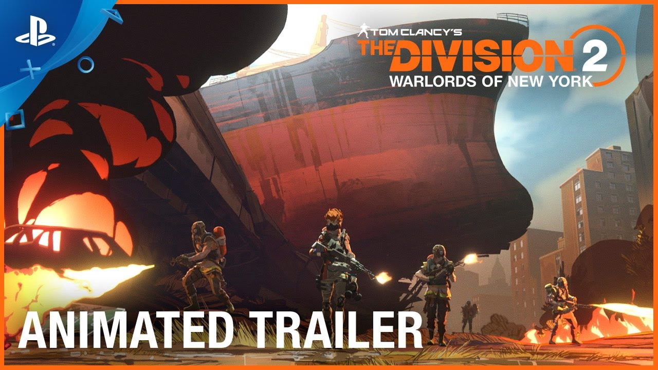 Tom Clancy's The Division 2 - Warlords of New York Animated Short | PS4