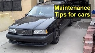 Quick monthly car or truck maintenance tips, things to check - VOTW