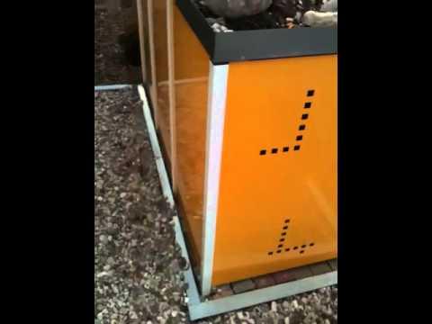 Mulltonnenbox Aus Metall Youtube
