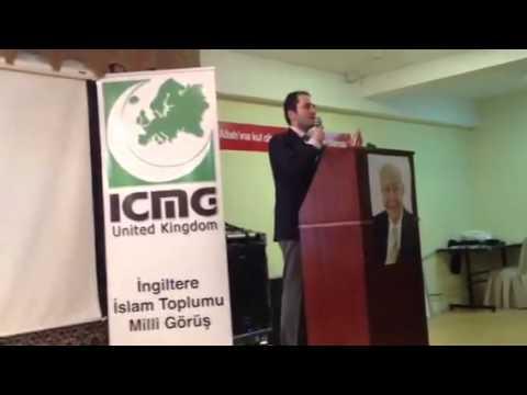 Fatih Erbakan'in Londra Konferansi 2  Bolum