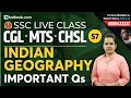 Indian Geography MCQ for SSC CGL 2019 | GS for SSC CHSL & MTS | General Studies for SSC