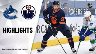 Canucks @ Oilers 5/6/21 | NHL Highlights