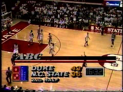 02/16/1992:  #1 Duke Blue Devils at NC State Wolfpack
