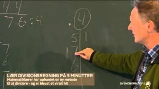 Dagens aha oplevelse - Lær at dividere på 50 sekunder (TV 2)