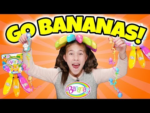 Bananas Toys Collectibles! Peelable Bananas with a Surprise Collectible Crushie Inside!