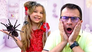 Diana and Dad Funny Story about Hairstyles