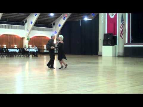 Carol Baker and Barry Crook Dancing the Triple Swing