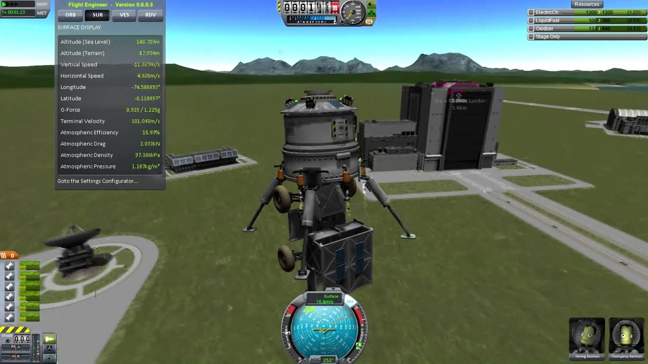 Kerbal Space Program - How To Land Your Rovers - YouTube