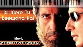 Dil mere tu deewana hai-Instrumental