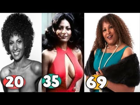 Pam Grier ♕ Transformation From 06 To 69 Years OLD