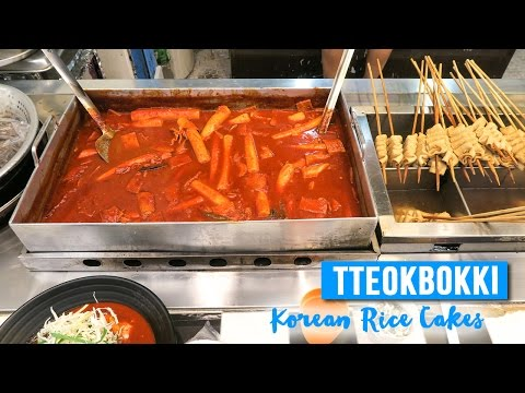 Tteokbokki in Seoul ● Korean Rice Cakes