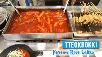 Tteokbokki in Seoul ● Korean Rice Cakes