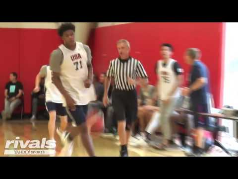 2019 Five-Star Power Fowrad Vernon Carey Highlights from USA Basketball