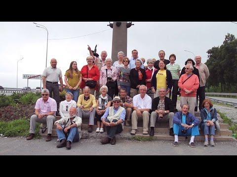"""Reportage """"Voyage du siècle"""" par TV Centre Vladivostok"""