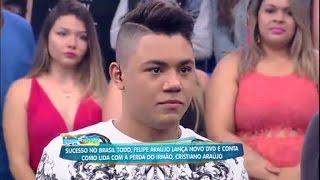 Felipe Araújo lança DVD e fala sobre a saudade do irmão