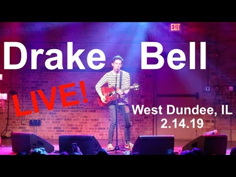 Drake Bell (LIVE) Fuego Lento, Found A Way, Gucci Gang, Blackbird & More In West Dundee, IL 2.14.19