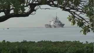 USS Freedom Pulls into Joint Base Pearl Harbor-Hickam