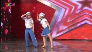vietnams got talent 2014 - cap song sinh gia bao vs gia linh - tap 1 - dancesport