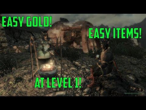 skyrim how to get gold