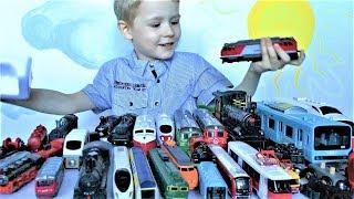 видео Іграшкові поїзди