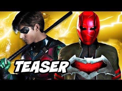 Titans Batman Red Hood Teaser - Jason Todd Scene Explained