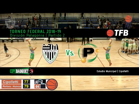 Básquet en vivo: Cipolletti vs. Pérfora