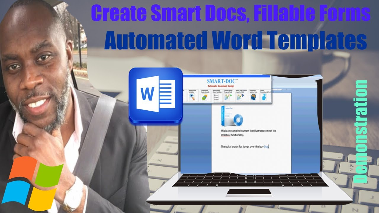 Smart doc create automated reusable ms word documents templates smart doc create automated reusable ms word documents templates fillable forms youtube pronofoot35fo Image collections