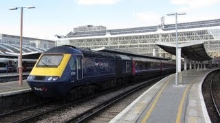 Diverted First Great Western HST