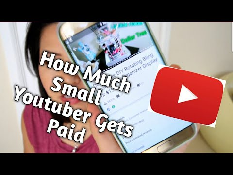 how to get paid on youtuber