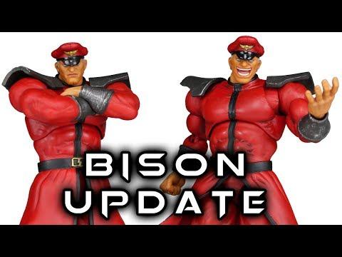 Storm Collectibles M. BISON (VEGA) Street Fighter V Review UPDATE