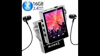 Gueray 16GB HIFI Bluetooth MP3 Player