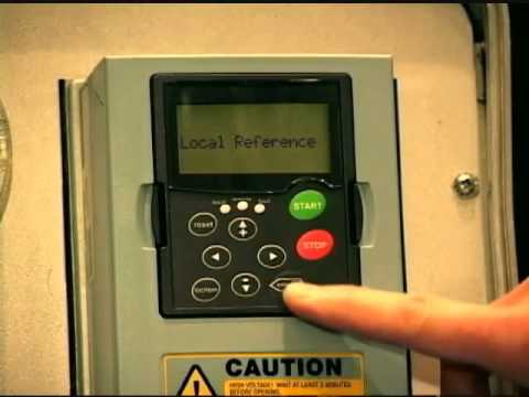 Eaton SVX9000, Variable Frequency Drives StartUp Wizard - YouTube on