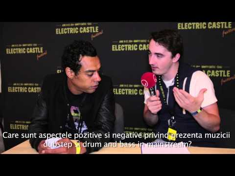 MC SirReal (Freestylers) Interview - Electric Castle Festival @I Think I Like It - Utv 2014