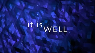 It Is Well with My Soul w/ Lyrics (Hillsong)